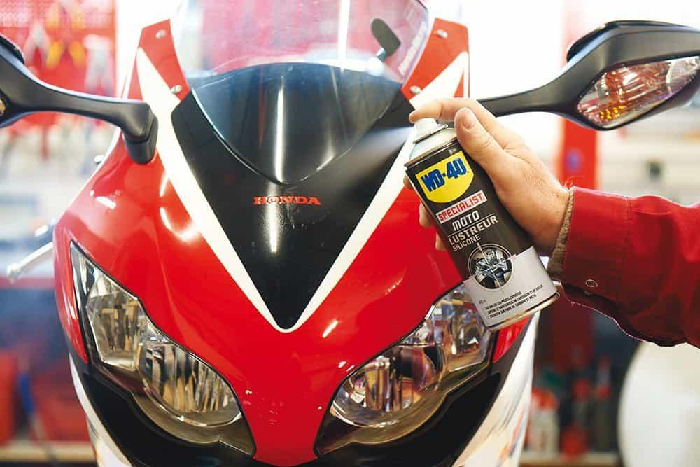Como limpar a moto corretamente